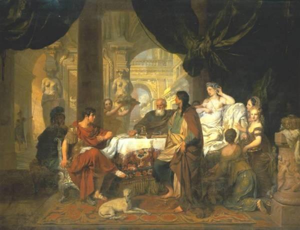 Lairesse Gerard 1680 cleopatra 2